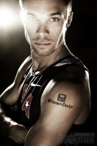nick symmonds tattoo london 2012