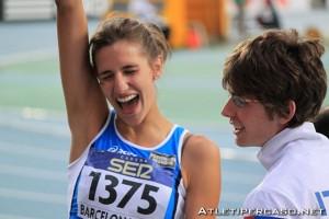 alessia trost oro barcellona 2012 mondiali junior