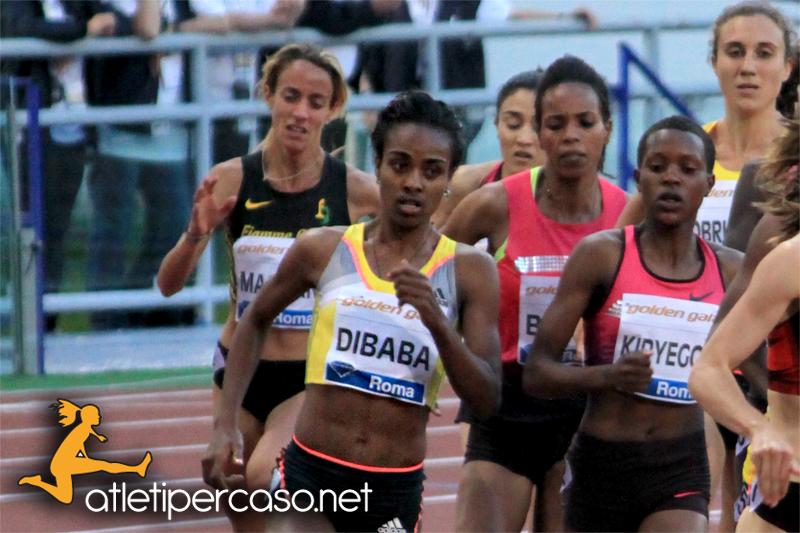 Genzebe Dibaba alla ricerca del Record del Mondo sul miglio a Rovereto