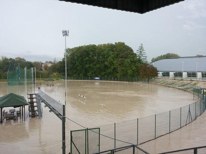Campo Scuola Parma alluvione