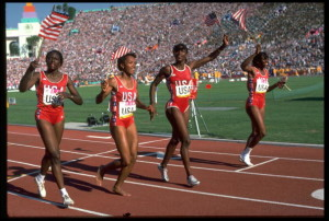 4x400 RELAY TEAM USA VICTORY