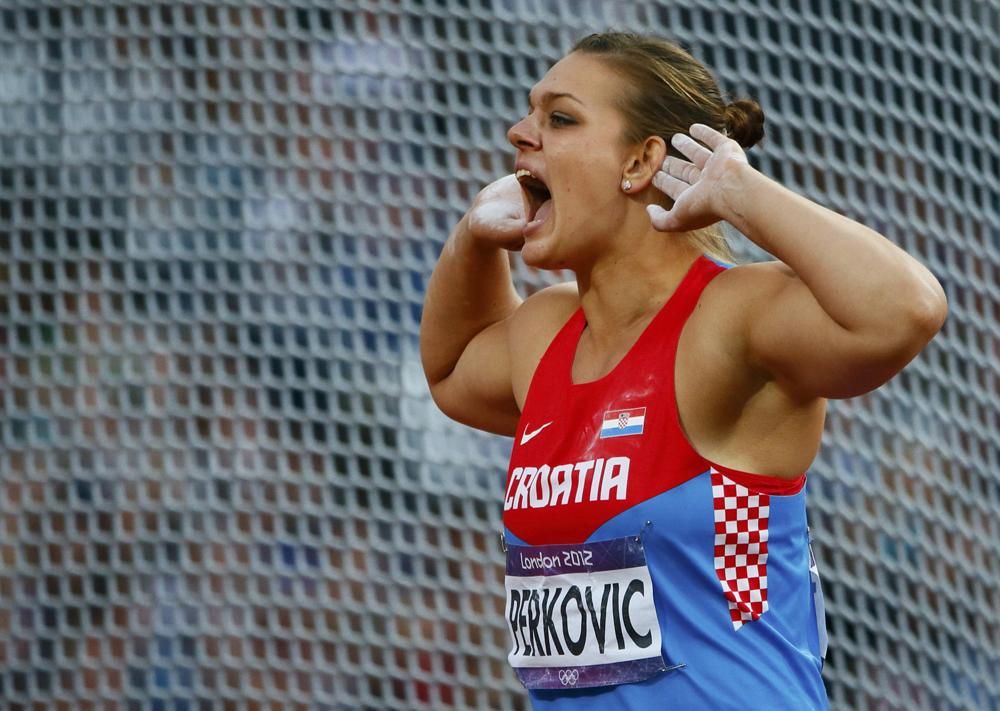 Sandra Perkovic si impone allo IAAF World Challenge di Zagabria