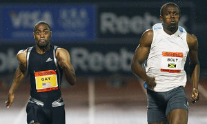 Usain Bolt e Tyson Gay
