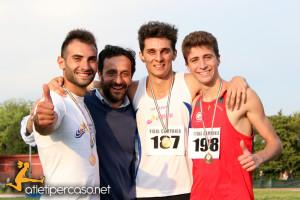 Vito Incantalupo, Andrea Romani, Giuseppe Leonardi