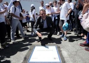 Stefano Baldini sulla Walk of Fame