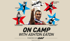 On camp with Ashton Eaton