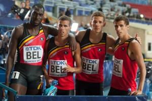 Belgium4x400