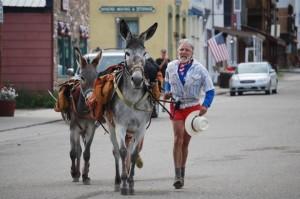 burro race