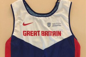 Greg Rutherford Union Jack