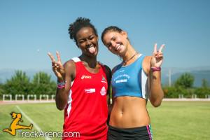 Elisa Rovere e Vissa Sintayehu