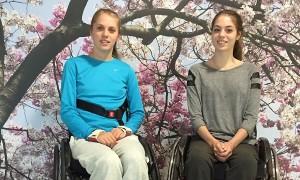 Kira Grunberg e Vanessa Sahinovic
