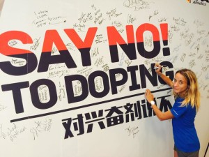 Margherita Magnani Say No To Doping