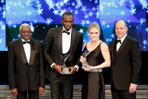 Usain Bolt and Sally Pearson IAAF Gala