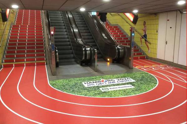 News  Hamburg U2019s Underground Turned Into A Track