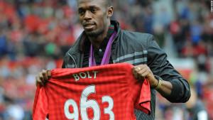 Usain Bolt Manchester Unites