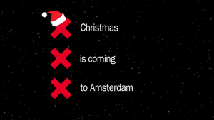 Auguri di natale da Amsterdam 2016