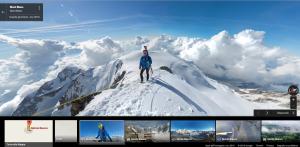Google Maps Monte Bianco