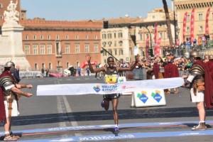 Amos Kipruto Maratona di Roma