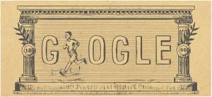 Google Doodle Olimpiadi Moderne