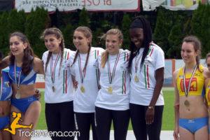 Bracco Atletica 4x400m Junior Bressanone 2016
