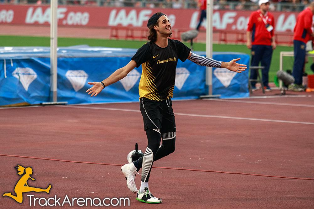Gianmarco Tamberi in finale per il titolo di Atleta Europeo dell'Anno