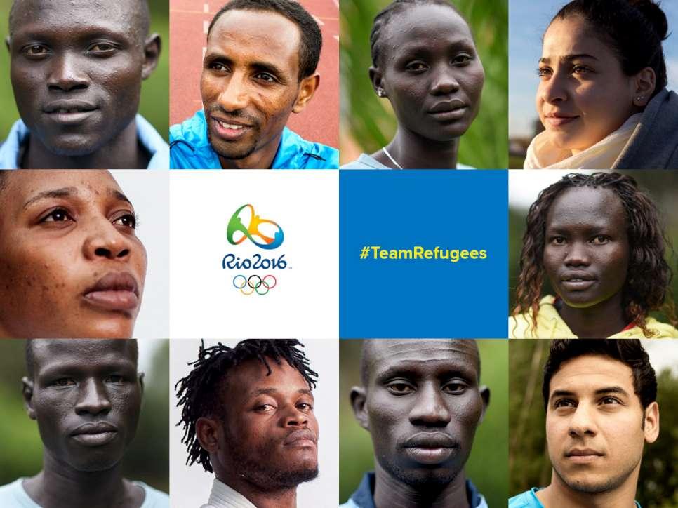 team refugees olimpiadi brasile