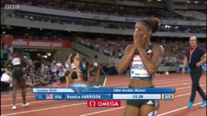 Kendra Harrison World Record Video