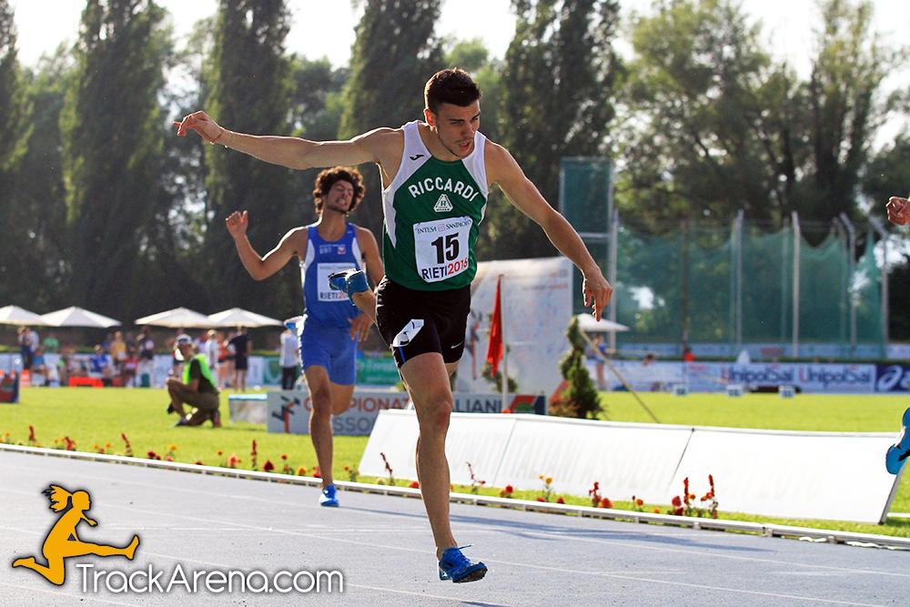 -3 alla Finale dei Campionati di Società Assoluti, Riccardi e Bracco per difendere il titolo