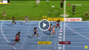 Video 100m Women Candace Hill Bydgoszcz 2016
