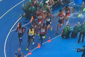 Ezekiel Kemboi DQ Rio 2016