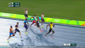 Usain Bolt 200m Rio 2016 Video