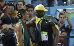 Usain Bolt Wayde Van Niekerk