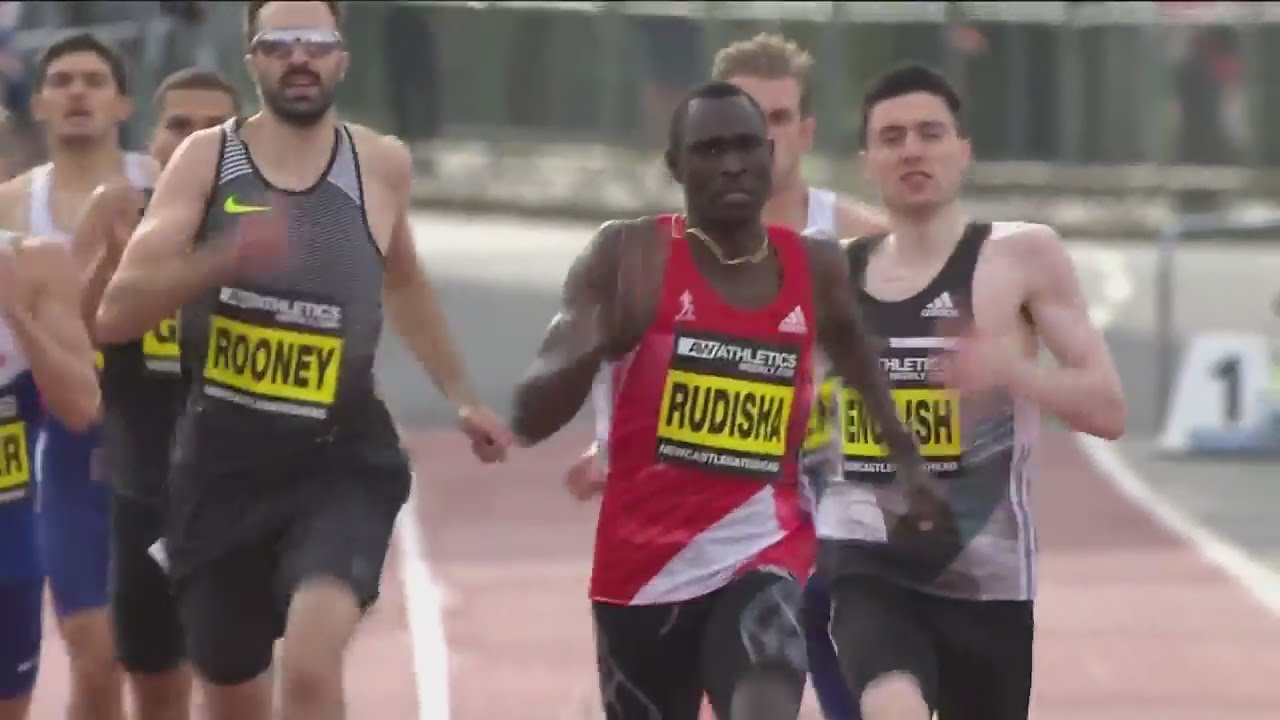 Atletica in piazza a Manchester, David Rudisha e Linsey Sharp stabiliscono il WR dei 500m (VIDEO)