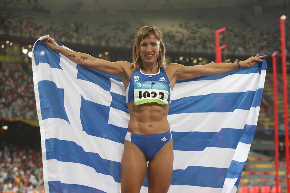 La triplista greca Pigi Delvetzi positiva a un retest antidoping, a rischio il bronzo olimpico di Pechino 2008