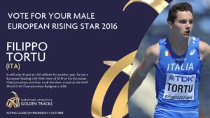 Filippo Tortu Rising Star 2016