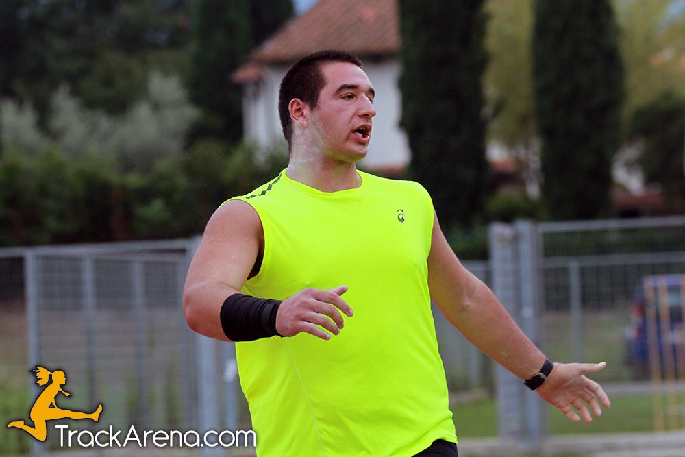 Leonardo Fabbri sfiora i 17m a Arezzo, assegnati gli ultimi titoli toscani Allievi