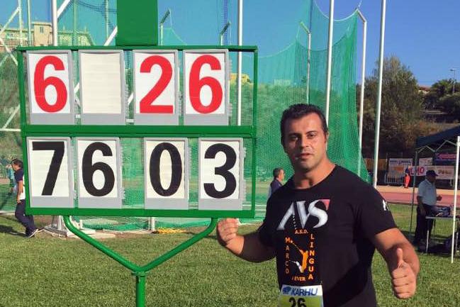 Marco Lingua lancia 76.03m a Boissano, primato stagionale (VIDEO)