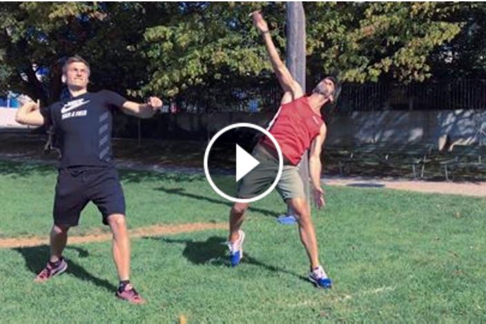 Thomas Rohler si prepara per la Diamond League con il lancio dello spazzolino (VIDEO)