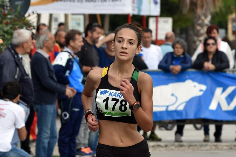 Davide Marchesi e Anthea Mirabello nuovi Campioni Italiani Allievi di Marcia su Strada