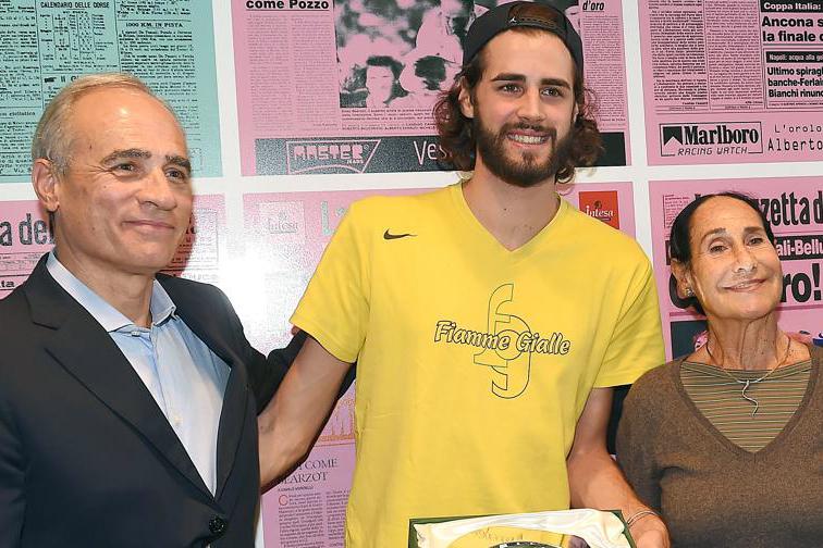 Il premio Cannavò della Gazzetta a Gianmarco Tamberi