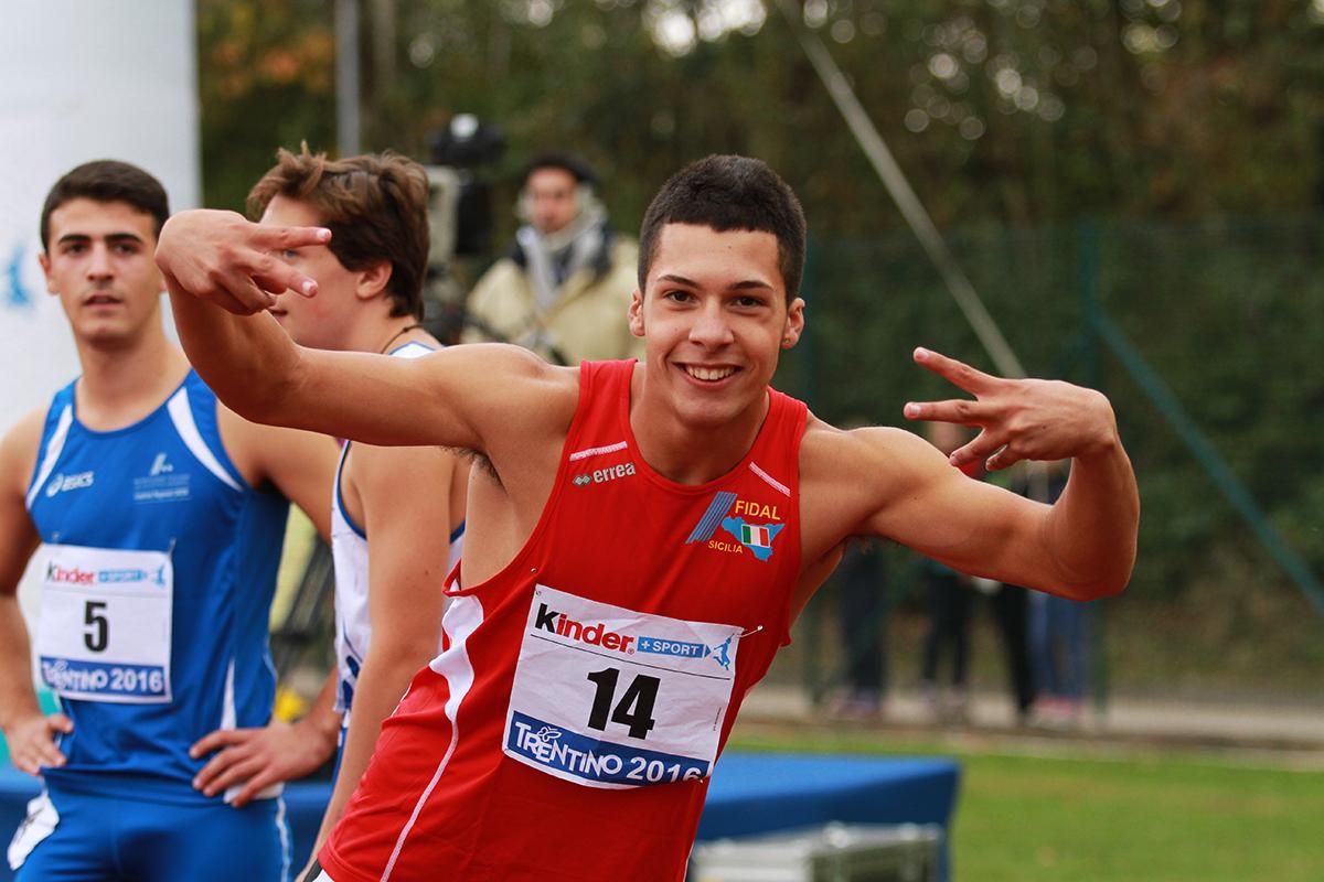 CLES: Carmelo Musci si impone nel peso, Rebecca Menchini e Raffaele Di Maggio i cadetti più veloci d'Italia
