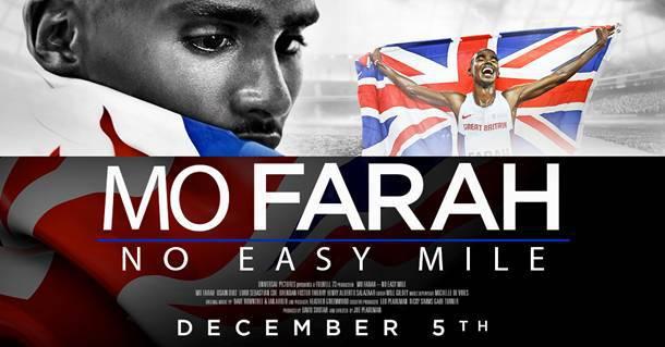 """Il trailer di """"No Easy Mile"""", il film-documentario su Mo Farah"""