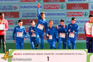 Italia Europei Cross U23 Oro Chia 2016