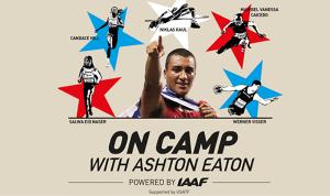 On camp with Ashton Eaton