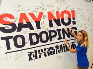Margherita Magnani Say No To Doping