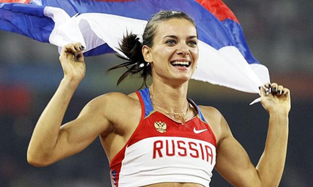 Russische Athleten
