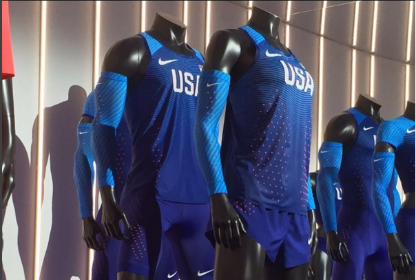Nike presents the new Olympic outfits: USA in blue with ...