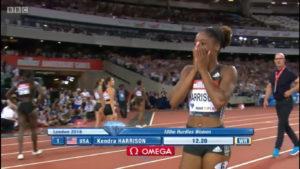 Kendra Harrison World Record Video