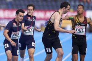 4x400m France Bydgoszcz 2017